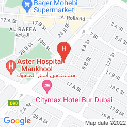 Plan MAJESTIC CITY RETREAT HOTEL