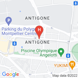 Plan CITADINES ANTIGONE MONTPELLIER