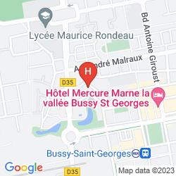 Plan VILLA BELLAGIO MARNE-LA-VALLÉE BUSSY SAINT GEORGES