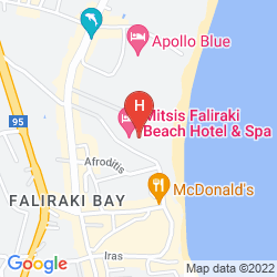 Plan MITSIS FALIRAKI BEACH