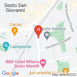 Plan IH HOTELS MILANO ST. JOHN SESTO SAN GIOVANNI