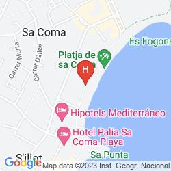 Plan HIPOTELS APARTAMENTOS HIPOCAMPO PLAYA
