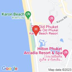 Plan THE OLD PHUKET KARON BEACH RESORT
