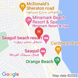 Plan SEAGULL BEACH RESORT