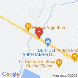 Plan RECHIGI PARK HOTEL