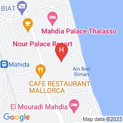 Plan NOUR PALACE RESORT & THALASSO