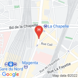 Plan SURE HOTEL BY BEST WESTERN PARIS GARE DU NORD