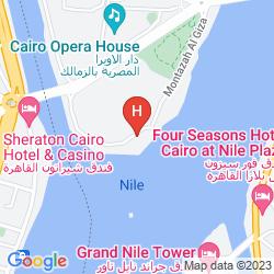 Plan SOFITEL CAIRO NILE EL GEZIRAH