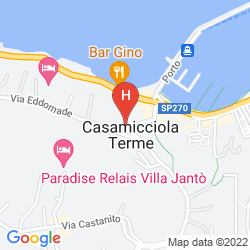 Plan CRISTALLO PALACE HOTEL TERME