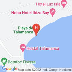 Plan HOSTEL TALAMANCA