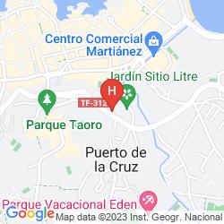 Plan HOTASA CANARIFE PALACE
