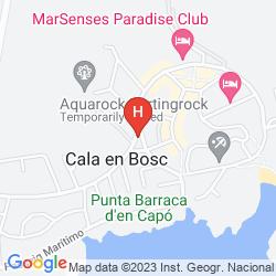 Plan APARTHOTEL PARADISE CLUB & SPA