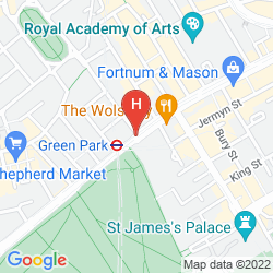 Plan THE RITZ LONDON
