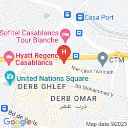 Plan OUM PALACE HOTEL & SPA