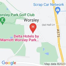 Plan WORSLEY PARK, A MARRIOTT HOTEL & COUNTRY CLUB