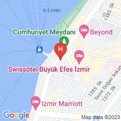 Plan MOVENPICK HOTEL IZMIR