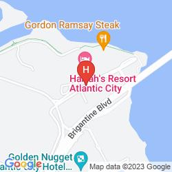 Plan HARRAH'S RESORT ATLANTIC CITY