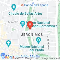 Plan RITZ MADRID