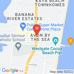Plan BEST WESTERN OCEAN BEACH HOTEL & SUITES