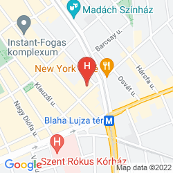 Plan SOHO BOUTIQUE HOTEL