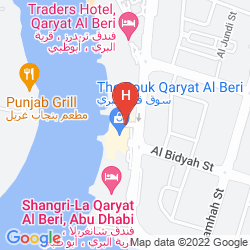 Plan SHANGRI-LA HOTEL QARYAT AL BERI, ABU DHABI