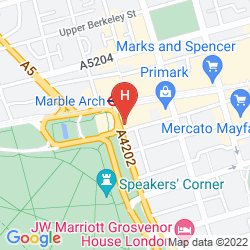 Plan LONDON MARRIOTT HOTEL PARK LANE