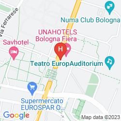 Plan UNAWAY HOTEL BOLOGNA FIERA