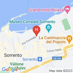 Plan GRAND HOTEL EUROPA PALACE