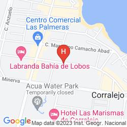 Plan APARTAMENTOS MAXORATA BEACH