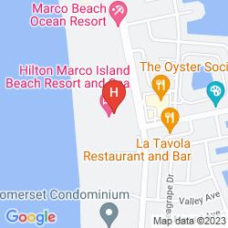 Plan HILTON MARCO ISLAND BEACH RESORT AND SPA