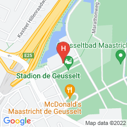 Plan SELECT HOTEL APPLE PARK MAASTRICHT