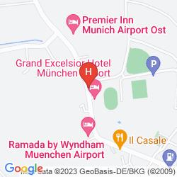 Plan SHERATON MUNICH AIRPORT