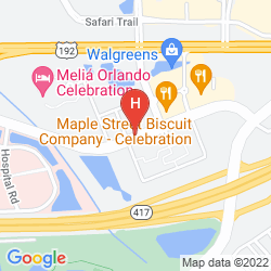 Plan MELIA ORLANDO SUITES HOTEL AT CELEBRATION