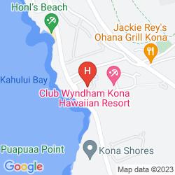 Plan WYNDHAM KONA HAWAIIAN RESORT