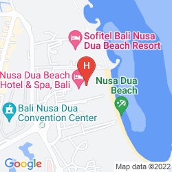 Plan NUSA DUA BEACH HOTEL & SPA