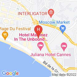 Plan RESIDENCE RIVIERA BEST OF CANNES
