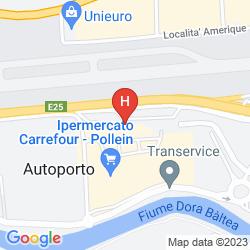 Plan EXPRESS HOTEL AOSTA