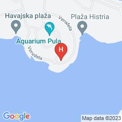 Plan VERUDELA BEACH & VILLA RESORT