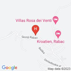 Plan HOTEL AMFORA