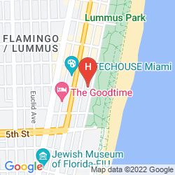 Plan AVALON HOTEL MIAMI BEACH