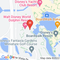 Plan WALT DISNEY WORLD SWAN
