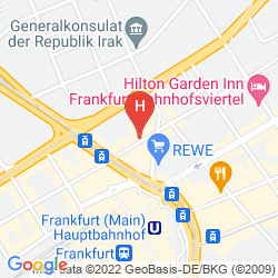 Plan 25 HOURS HOTEL FRANKFURT TAILORED BY LEVI'S