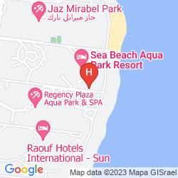Plan TROPICANA SEA BEACH