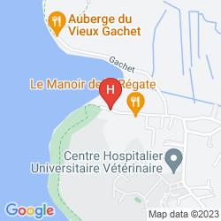 Plan BEST WESTERN PLUS HOTEL DE LA REGATE