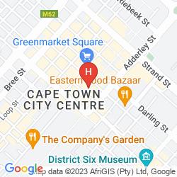Plan HOLIDAY INN EXPRESS CAPE TOWN CITY CENTRE
