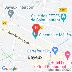 Plan GRAND HOTEL DU LUXEMBOURG
