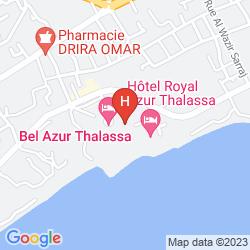 Plan ROYAL AZUR THALASSO GOLF