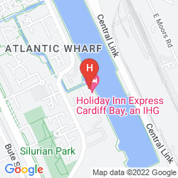 Plan HOLIDAY INN EXPRESS CARDIFF BAY
