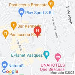 Plan QUALITY HOTEL PARK SIRACUSA