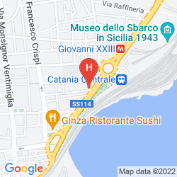 Plan VILLA ROMEO (CATANIA)